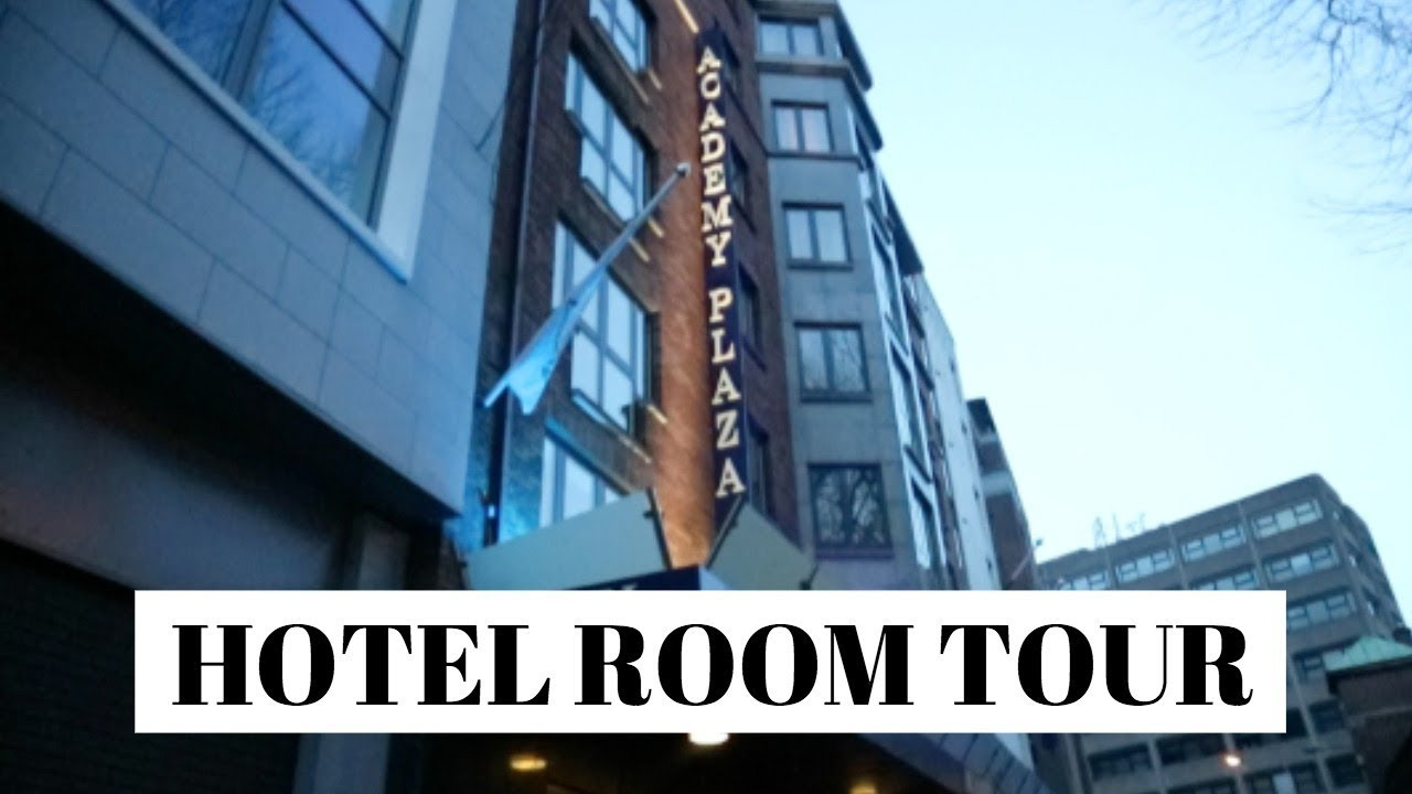 Hotel Room Tour Academy Plaza Dublin Youtube