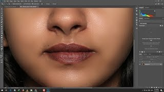 Face Retouch In Photoshop Hindi | Face texture in Photoshop | Skin Retouching screenshot 3