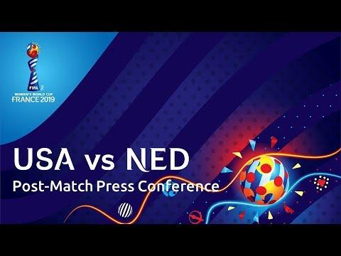USA v. NED - Post-Match Press Conference