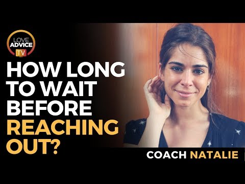 How Long Should I Wait Before Reaching Out To My Ex?