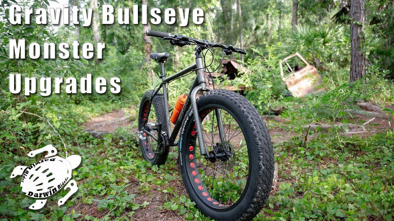 6c0f11bb0b4 Upgrade my Gravity Bullseye Monster Fat Bike - YouTube