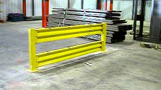 Cubic Safety Rail Impact Demo from DACO