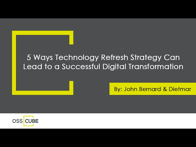 Five Ways a Technology Refresh Strategy Can Help Make Your Digital Transformation a Success - YouTube