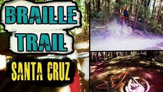 DEMO DH Trail BIT ME | BRAILLE Trail | Mountain Biking SANTA CRUZ