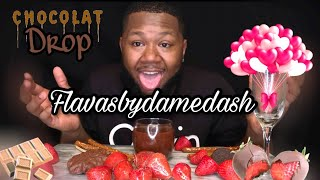 Chocolate With Strawberries MUKBANG | SWEETEST DAY|Date night