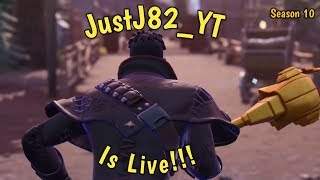 FORTNITE SEASON 10-NEW TILTED TOWN!!!.. New AUTOMATIC SNIPER!!! $25 Amazon Code giveaway @700 Subs.__.
