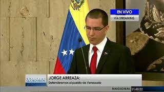 Canciller Arreaza: 63 países ratifican ante la ONU respaldo a Venezuela