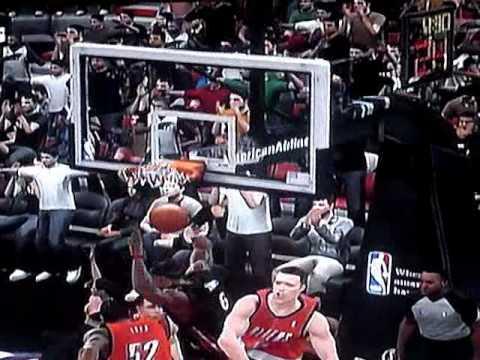 NBA2K10 - MIAMI HEAT - WADE,JAMES,BOSH,HASLEM,CHALMERS,MILLER,BIG Z