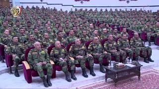 الفريق أول صدقى صبحى يلتقى برجال القوات المسلحة عبر شبكة الفيديو كونفرانس