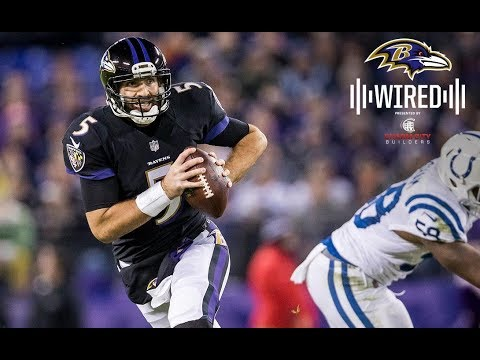 Wired: Inside a Nerve-Wracking Win With Joe Flacco & John Harbaugh