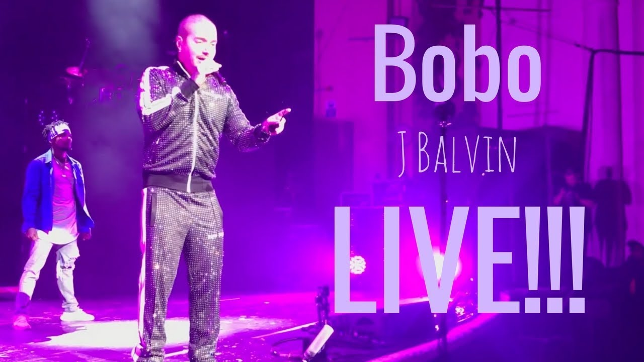 Download Bobo - J Balvin Live in Concert!!!