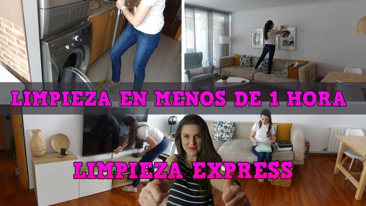 LIMPIEZA EXPRESS EN MENOS DE 1 HORA