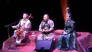 Chants de Mongolie et Kalmoukie - Paris 06/11/2016