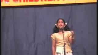 Thadaka enna Dravida Rajakumary-(Vayalar Kavitha) by Amritha Gopakumar