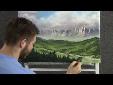 Looking Over the Valley - Paint with Kevin Hill
