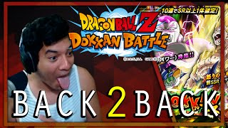 BACK TO BACK SSR PULLS OMFG!! Dragon Ball Z Dokkan Battle Summons