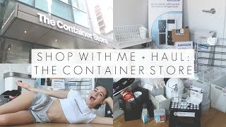 The Container Store Shop With Me + Haul || Back To School Apartment Organizing || BeautyChickee