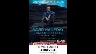 David Hallyday concert 20/03/18 Seven Casino Amnéville