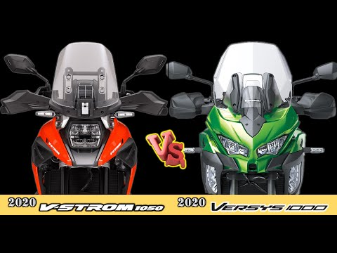 2020 Suzuki V-Strom 1050 VS 2020 Kawasaki Versys 1000 - [Specification Review]