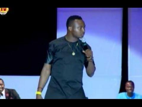funnybone and Emeka Smith at Acapella goes to Church