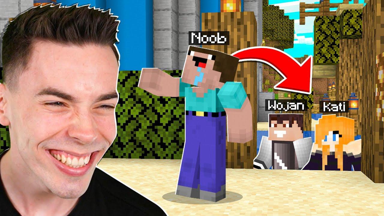 CHOWANY Z NOOBKIEM na WOJANOWICACH w Minecraft!