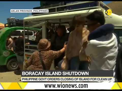Boracay Island: Philippine govt orders closing of island for clean up