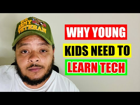 Why Young Kids Need to Learn Tech