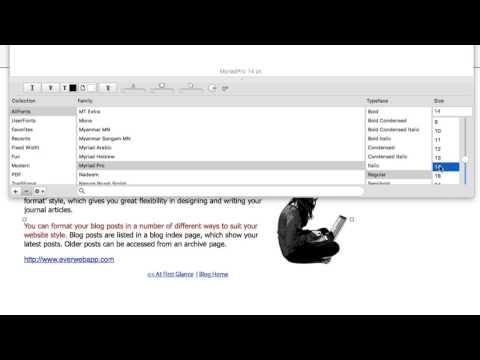 EverWeb 2.0 - Advanced Blogging Features