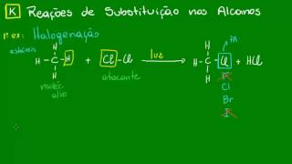 Reaes de substituio nos Alcanos - Qumica Orgnica - Qumica