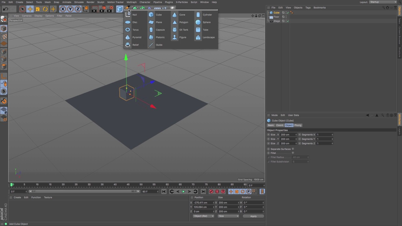 Cinema 4d working with 3d camera rigs tutorial.