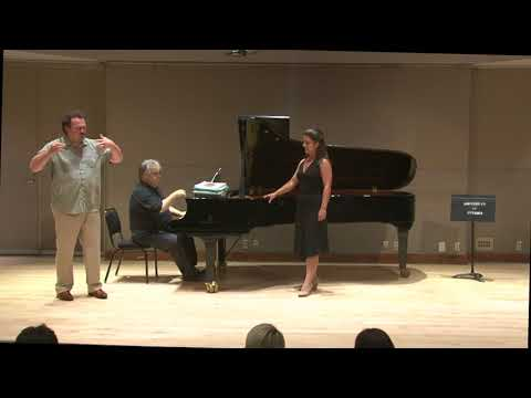 Vocal masterclass with Russell Braun   Classe de maître de chant avec Russell Braun