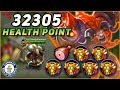 MINOTAUR 32305 HEALTH POINT! MAXIMUM HP WORLD RECORD! Mobile Legends Documentary
