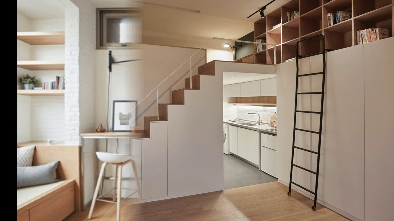 Smart design idea for a small studio apartment