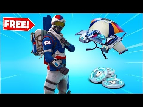 HOW TO GET FREE ALPINE ACE SKIN ON FORTNITE(WORKING)
