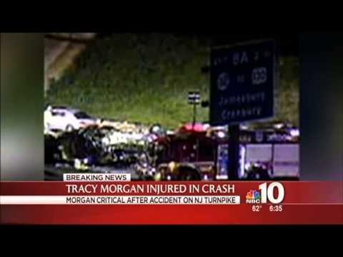 Comedian Tracy Morgan Critical After Multi-Car Crash In Cranbury!!!