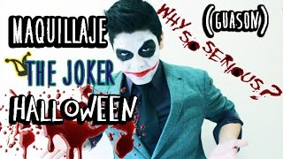 THE JOKER | MAQUILLAJE PARA HALLOWEEN Thumbnail