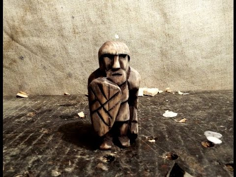 Деревянный солдатик,игрушка своими руками,резьба по дереву. wood carving, wooden toy soldier