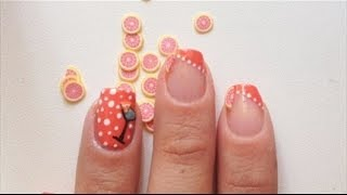Nail Art Fruits Cocktail | Martina Solinas per PUPA Nail Academy