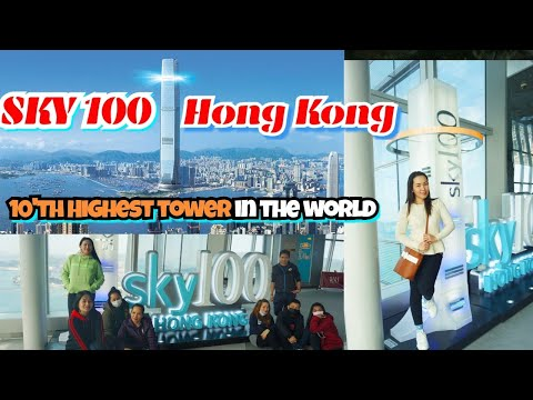 SKY100  HONGKONG OBSERVATION DECK || ICC TOWER Hk 10th Highest Tower In The World