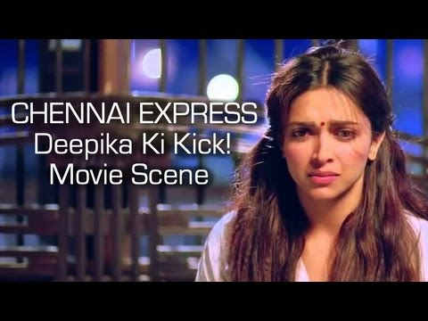 Chennai Express I Deepika Ki Kick I Movie Scene Travel Video
