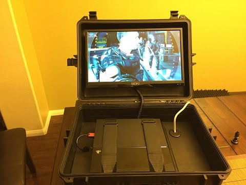 Mobile Gaming Case For PS4, PS3 And XBOX