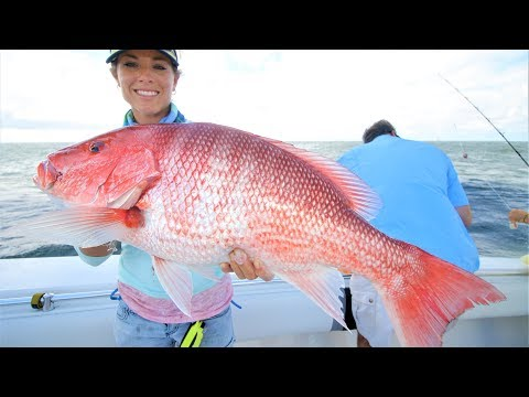 OFFSHORE FISHING LOUISIANA OIL RIGS FOR BULL REDFISH AND BIG