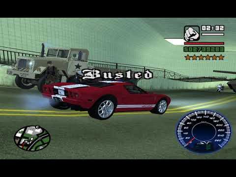 GTA SA Busted part 8