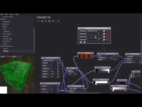 Material Maker: Remote node preview