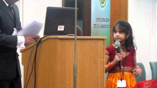 UKTA SANKRANTHI 2012 : PRAYER SONG BY SHRIYA SISTLA