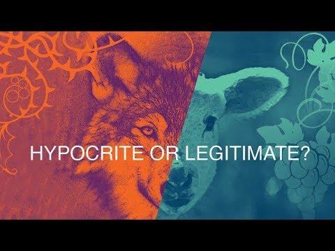Hypocrite Or Legitimate? (Part 1) (Aug 18, 2018)