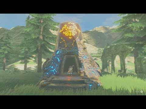 Zelda Breath of the Wild - The Ancient Rito Song - Shrine Quest