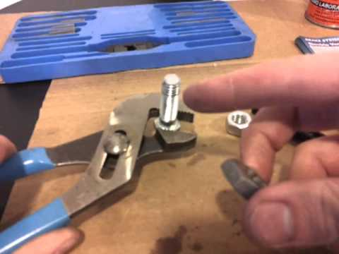 How to use a tap and die - FIXING STRIPPED THREADS DIY ...