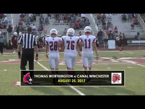 Thomas Worthington at Canal Winchester 2017