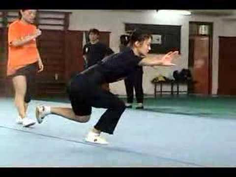 Wuhan Wushu Practice 4